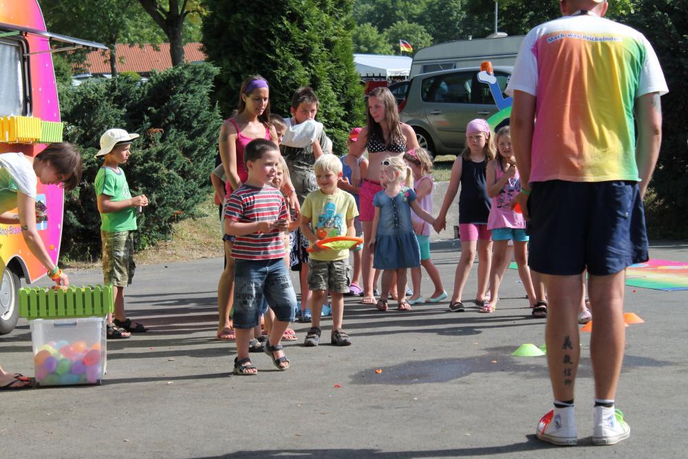 Animation für Kinder auf dem Campingplatz Am Hohen Hagen