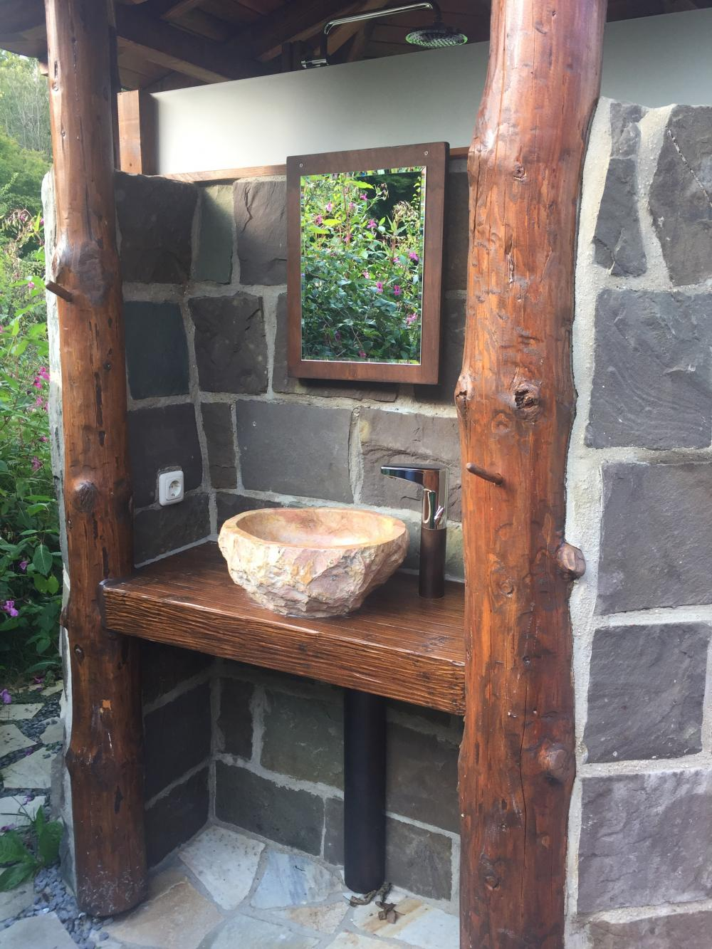 Außenwaschplatz