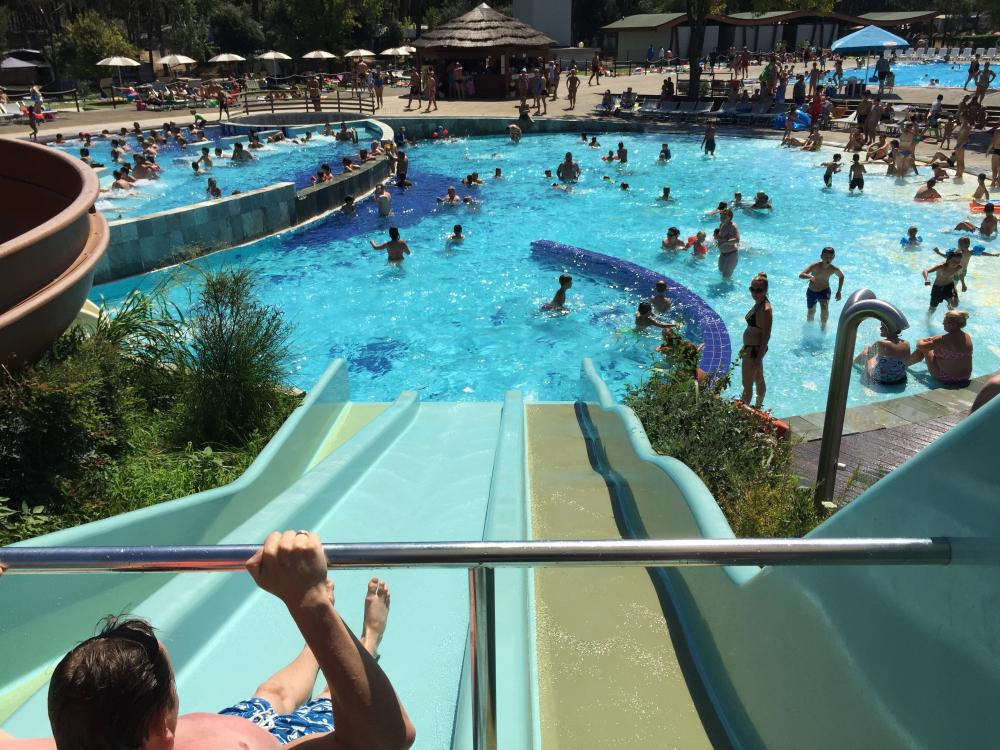 Poolpark im Campingplatz