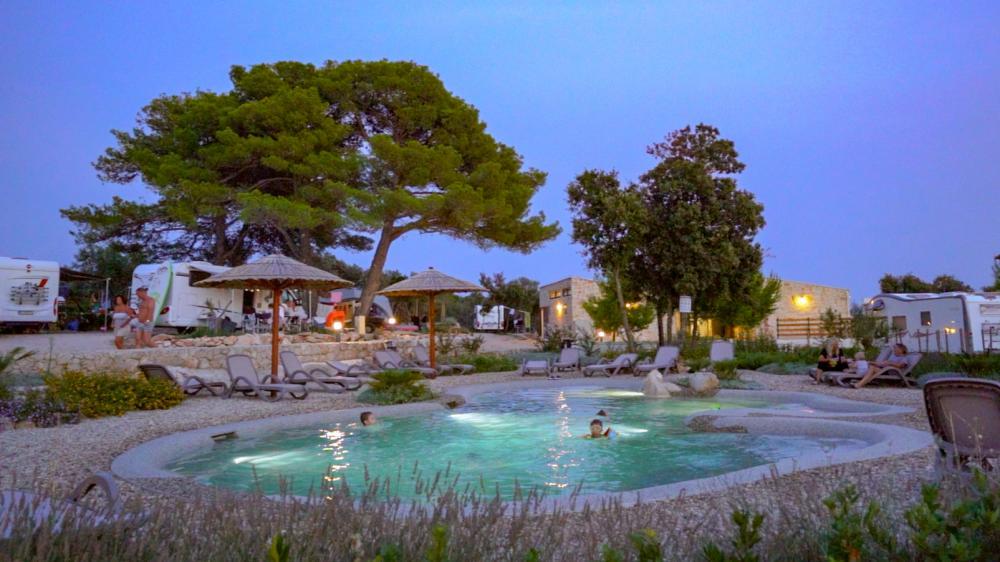 hetaed outdoor pool
