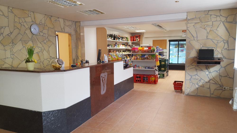 Rezeption mit Shop