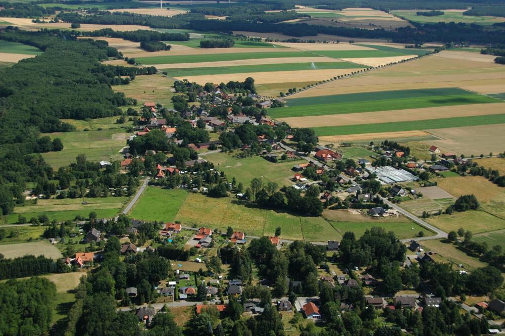 Radenbeck von oben
