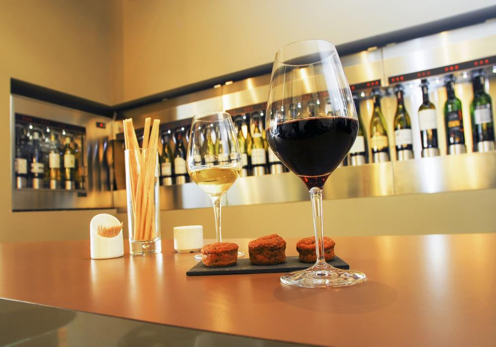 Französische Weine verkosten