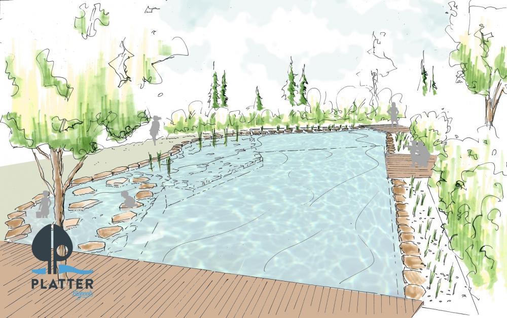 Unser Bio Pool läd' ab dem Frühjahr 2019 zum relaxen ein